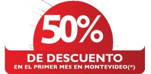 descuento deposito 50% montevideo