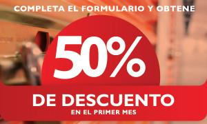 PuntaBox Descuento 50%